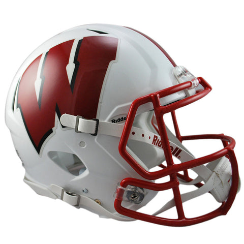 Wisconsin Badgers Riddell Speed Authentic Football Helmet