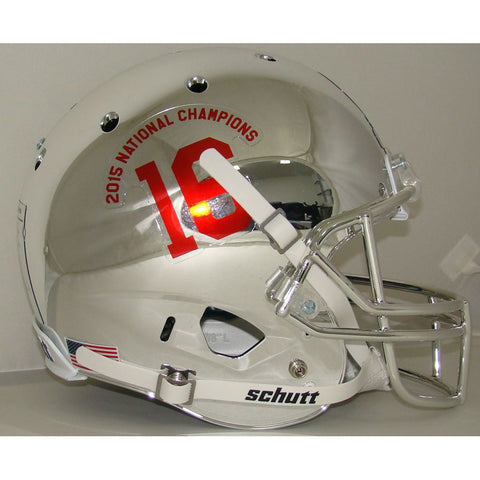 Alabama Crimson Tide Chrome 2015 National Champs Schutt XP Replica Football Helmet