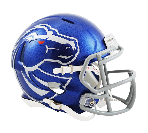 Boise State Broncos Riddell Mini Speed Football Helmet