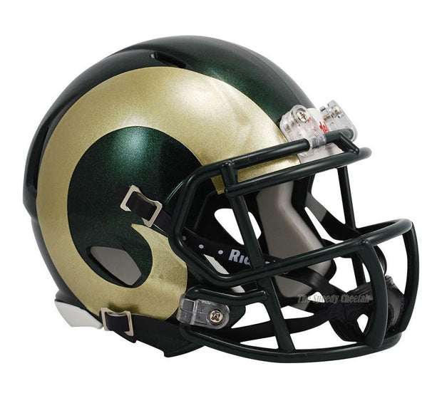 Colorado State Rams Riddell Mini Speed Football Helmet