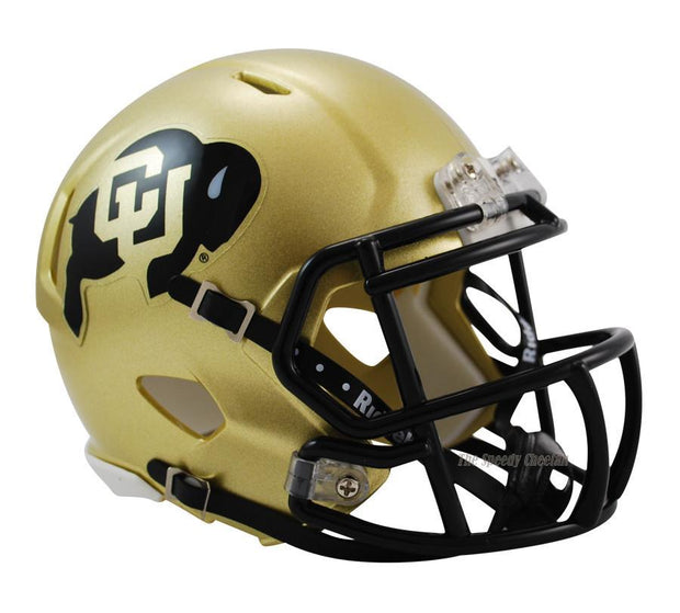 Colorado Buffaloes Riddell Mini Speed Football Helmet