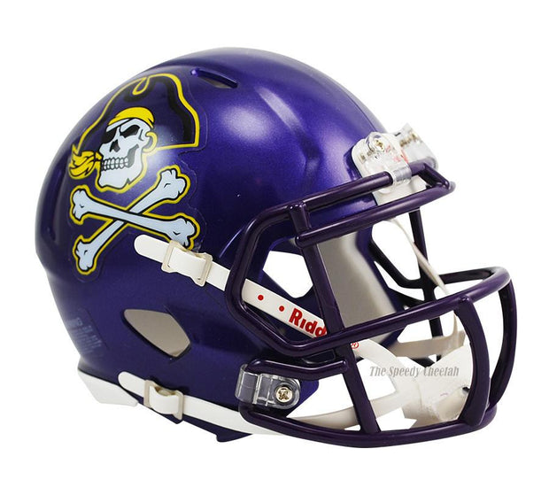 East Carolina Pirates Riddell Mini Speed Football Helmet