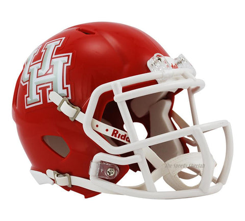 Houston Cougars Riddell Mini Speed Football Helmet