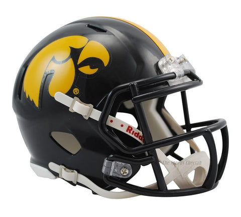 Iowa Hawkeyes Riddell Mini Speed Football Helmet