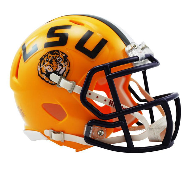 LSU Tigers Riddell Mini Speed Football Helmet