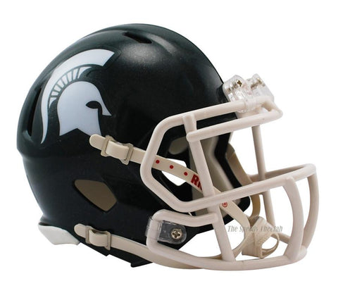 Michigan State Spartans Riddell Speed Mini Football Helmet