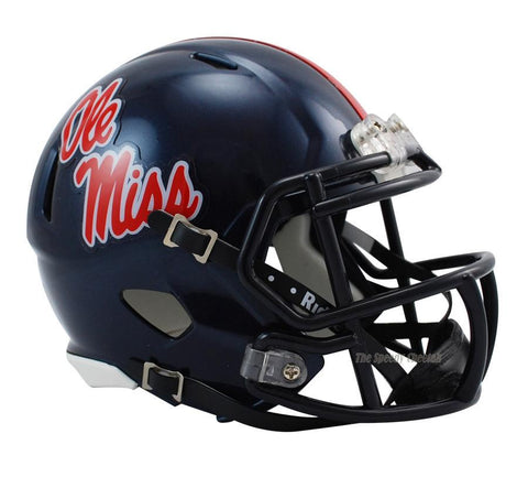 Mississippi (Ole Miss) Rebels Riddell Speed Mini Football Helmet