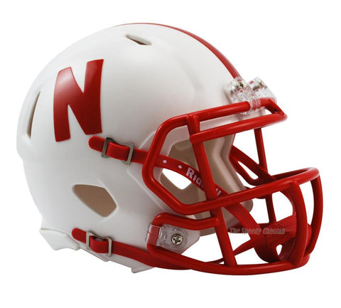 Nebraska Cornhuskers Riddell Speed Mini Football Helmet