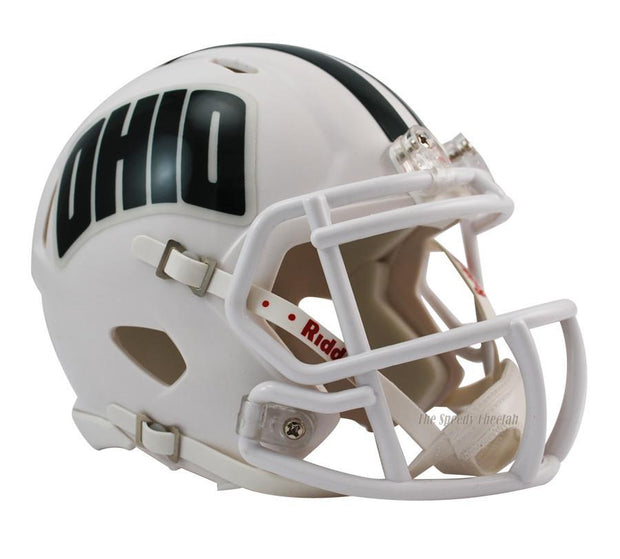 Ohio Bobcats Riddell Mini Speed Football Helmet