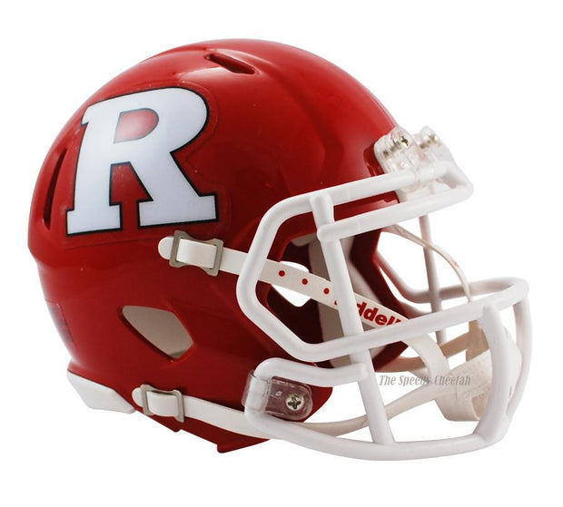 Rutgers Scarlet Knights Riddell Mini Speed Football Helmet