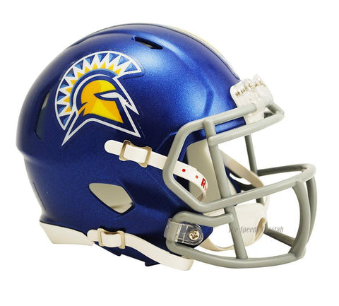 San Jose State Spartans Riddell Mini Speed Football Helmet