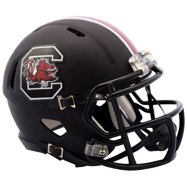 South Carolina Gamecocks Black Speed Full Size Replica Football Helmet