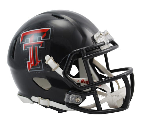Texas Tech Red Raiders Riddell Speed Mini Football Helmet