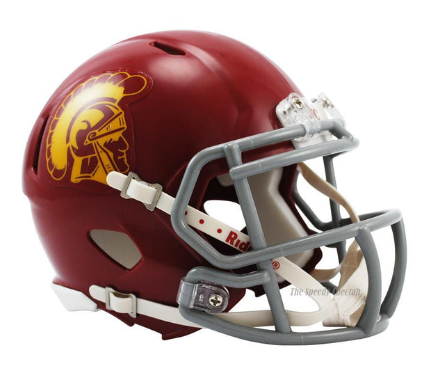 USC Trojans Riddell Mini Speed Football Helmet