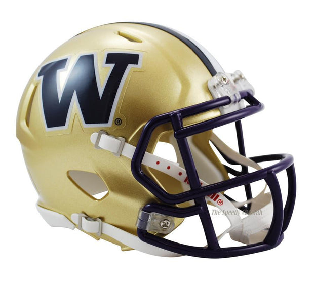 Washington Huskies Riddell Mini Speed Football Helmet