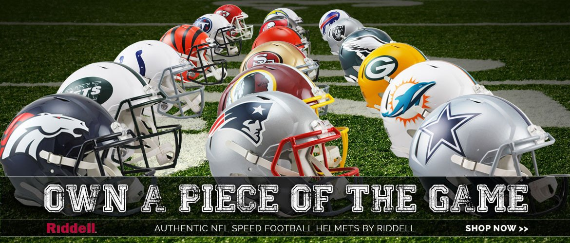 riddell speed nfl authentic football helmets for sale