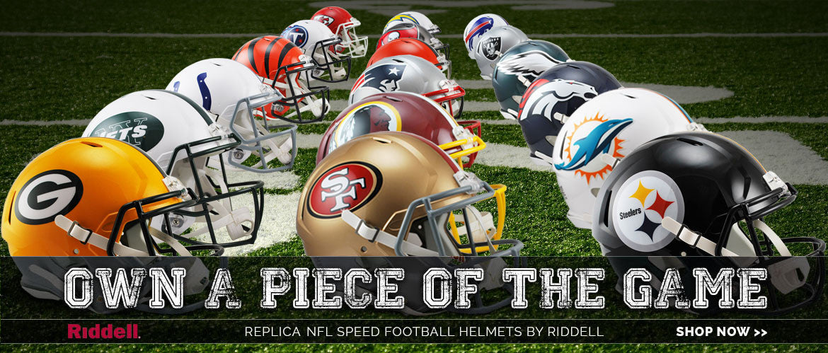 riddell speed nfl replica football helmets for sale