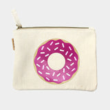 Donut Cotton Canvas Eco Pouch