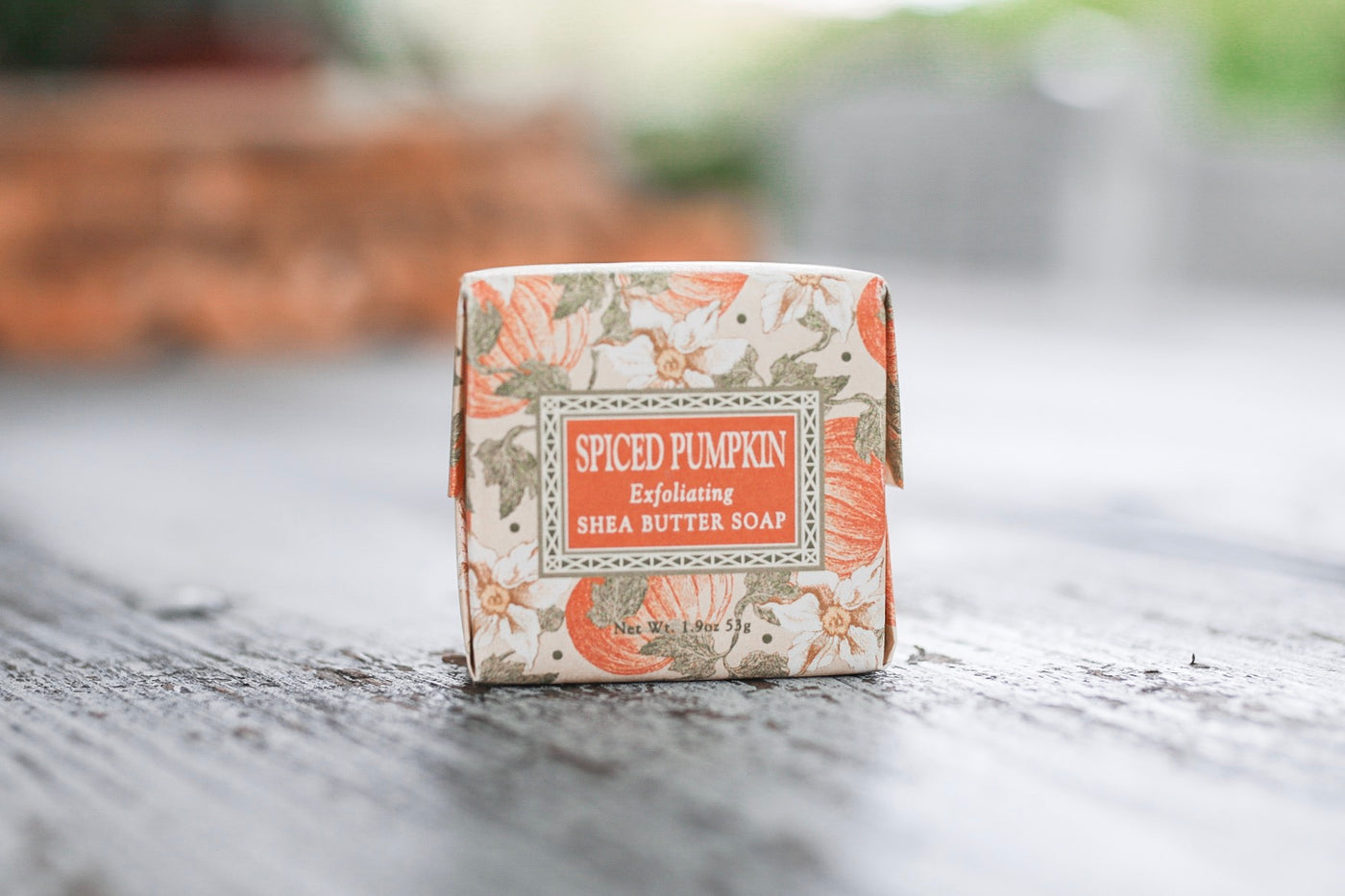 Spiced Pumpkin Exfoliating Shea Butter Soap