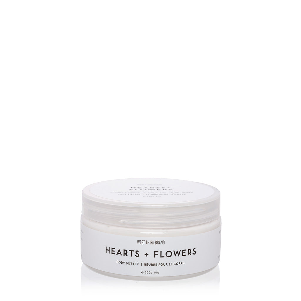 BODY BUTTER | HEARTS + FLOWERS
