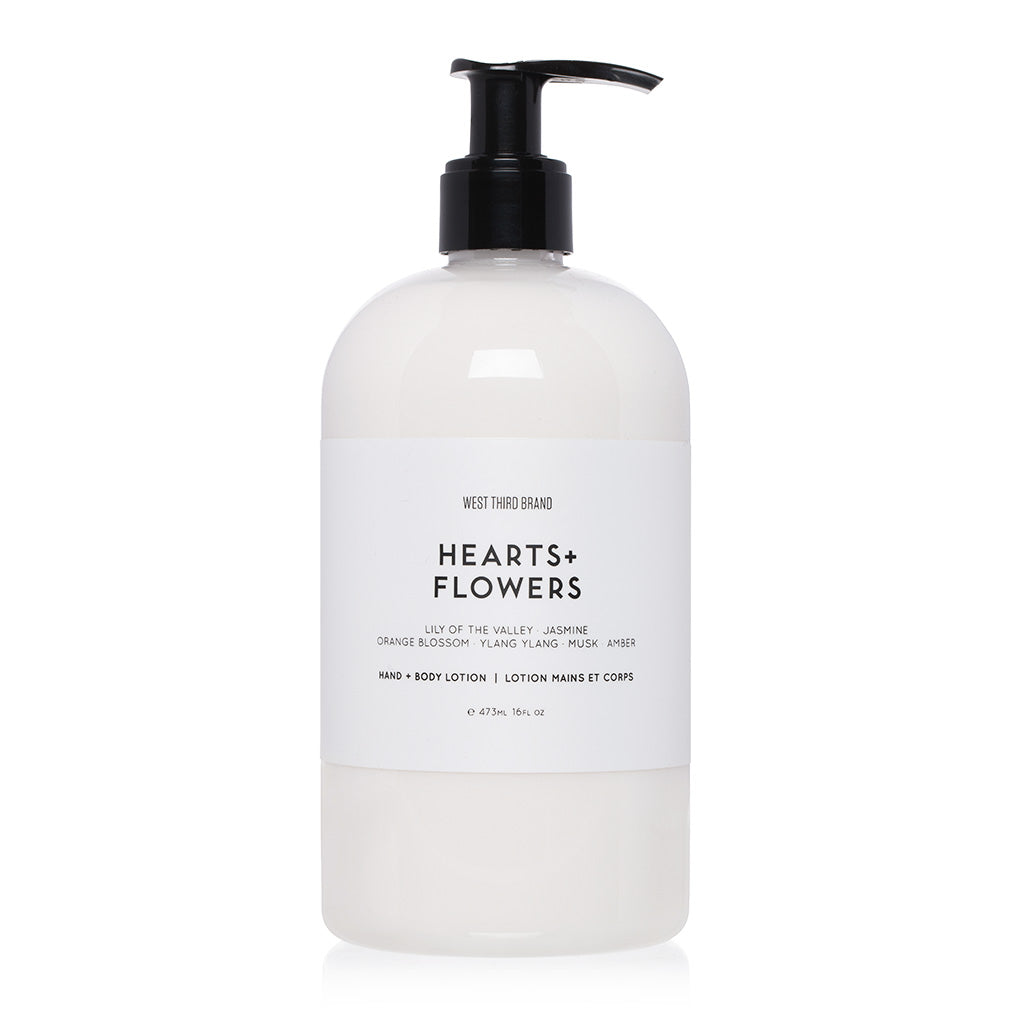 HAND + BODY LOTION | HEARTS + FLOWERS