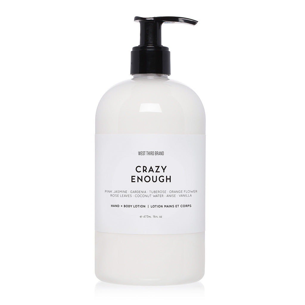 HAND + BODY LOTION | CRAZY ENOUGH