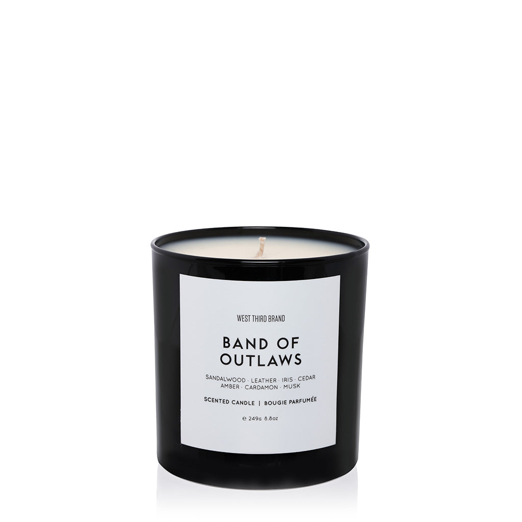SCENTED CANDLE | BAND OF OUTLAWS