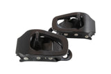 Union Toe Buckles (Black : Pair) - FixMyBinding.com  - 1