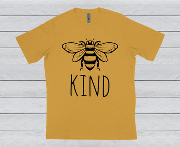 BEE KIND CREW NECK TEE