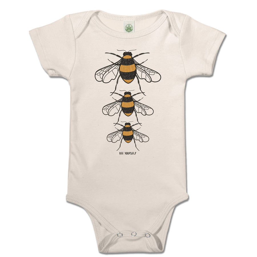 BEE YOURSELF ORGANIC BABY BODYSUIT - Bee The Change