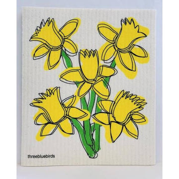DAFFODIL ~ SWEDISH DISHCLOTH - Bee The Change
