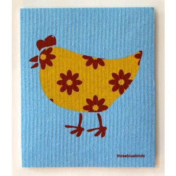 GERTI ON BLUE ~ SWEDISH DISHCLOTH - Bee The Change