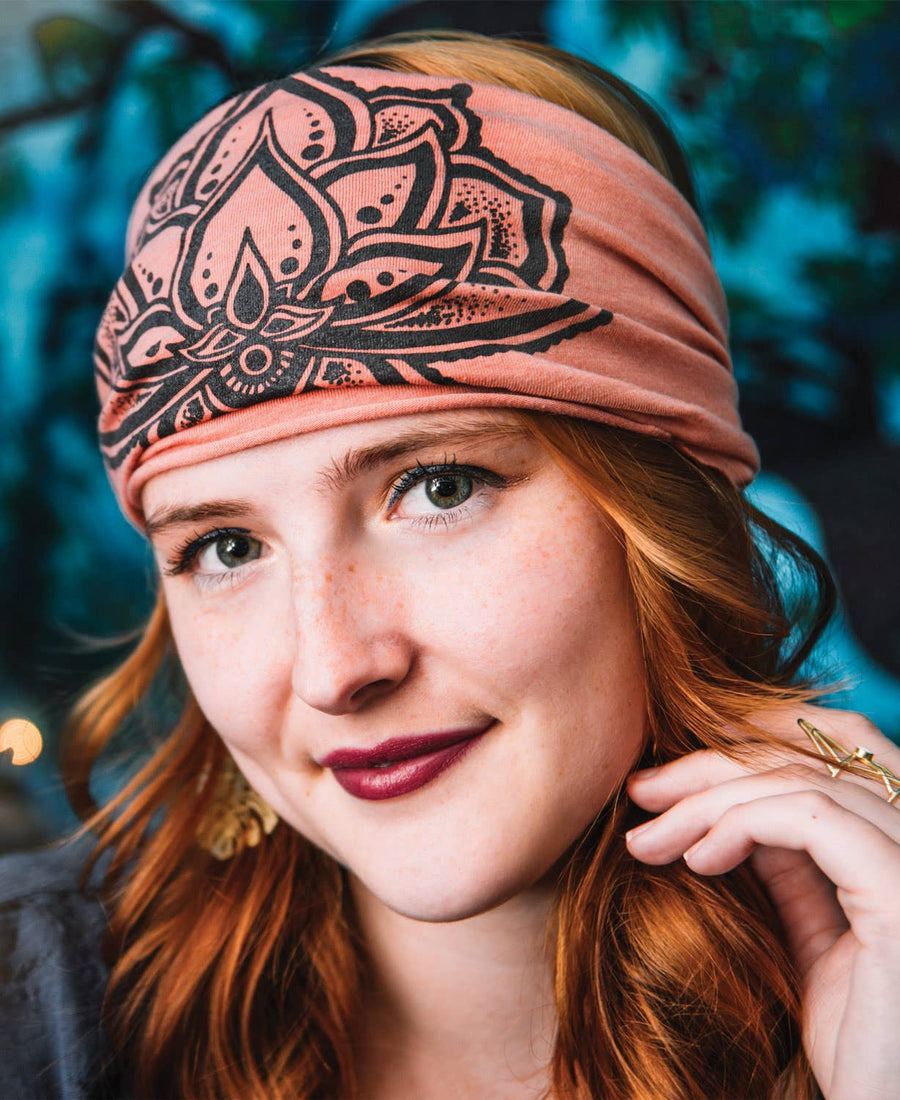 JEWEL LOTUS BOHO HEADBAND - Bee The Change