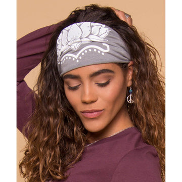 LOTUS FLOWER BOHO HEADBAND - Bee The Change