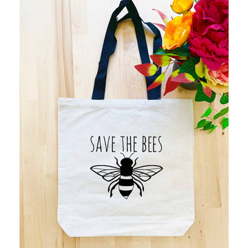 SAVE THE BEES TOTE BAG - Bee The Change