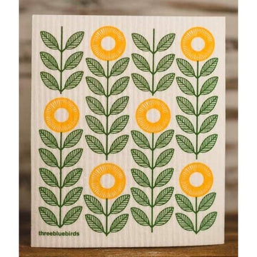SUNFLOWER ~ SWEDISH DISHCLOTH - Bee The Change
