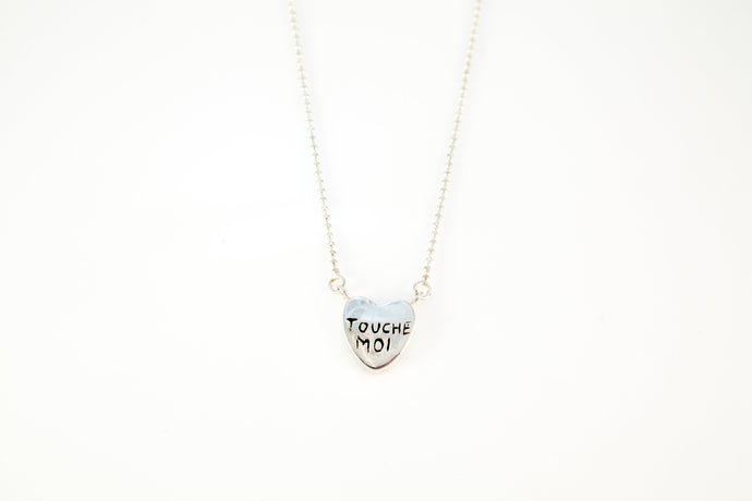Seven Shades of Love Necklace, Touch Me, Tease Me
