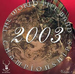 2003 World Pipe Band Championships