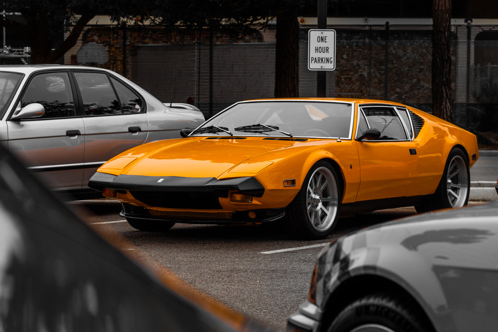 De Tomaso Pantera - In Living Color (16x24 Metalprint)