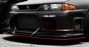 R33 Skyline GT-R - My Serious Face (16x30 Metalprint)