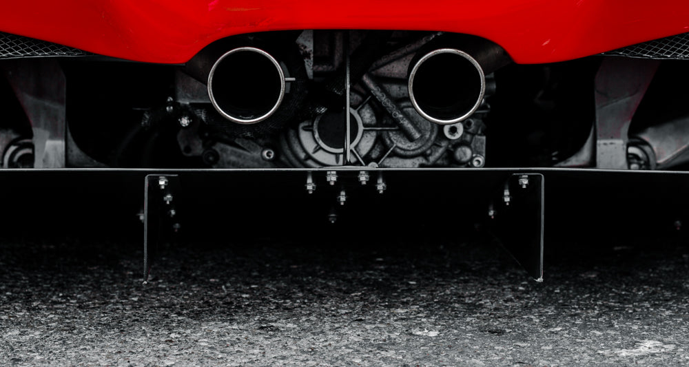 Ferrari 458 - Air, Fuel, and Rage (16x30 Metalprint)