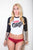 Dirty Girls Logo Raglan