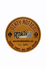Dirty Rotten Rides Sticker