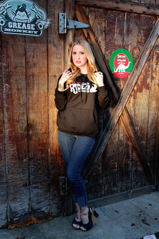 Dirty Rotten Rides pull over hoody