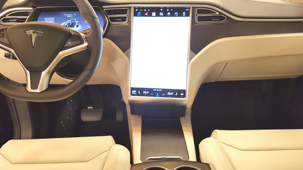 Black outside in cream interior