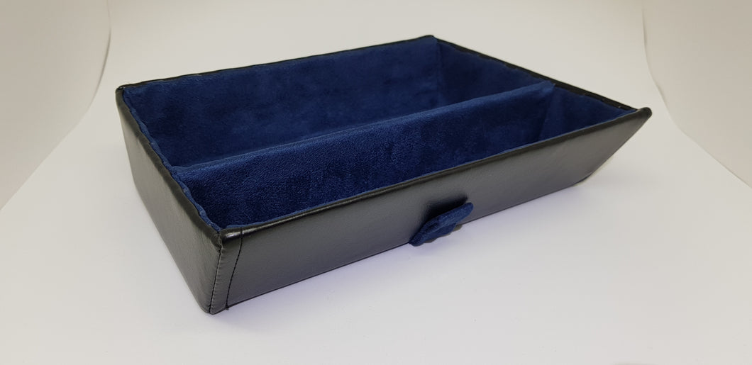 Premium tray - blue with divider