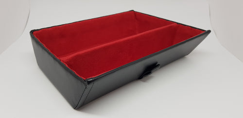 Premium tray - red with divider