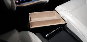 Premium tray - beige with divider