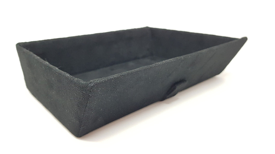 Alcantara tray - black