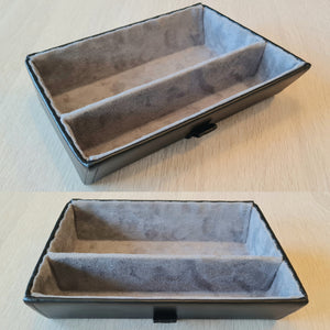 NEW Premium tray - grey with divider